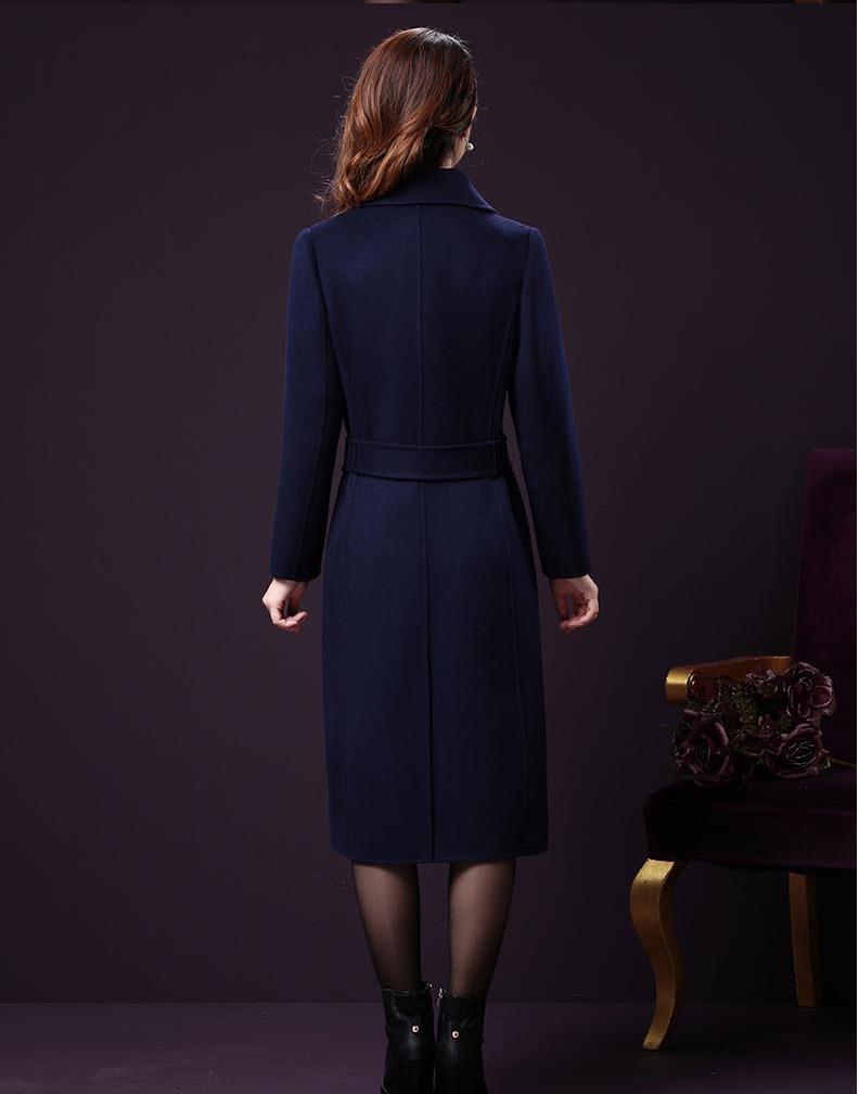 Áo khoác dạ dáng dài thời trang