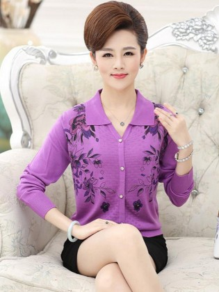Áo len trung niên Hàn Quốc TA292