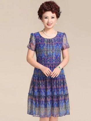 Váy đầm trung niên cao cấp TNVDFM0003