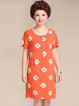 Váy đầm trung niên cao cấp TNVDFM0004