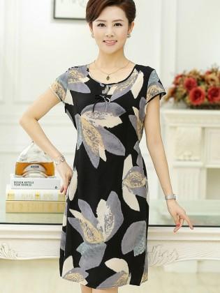 Váy trung niên cao cấp hàn quốc TNVDDY0001
