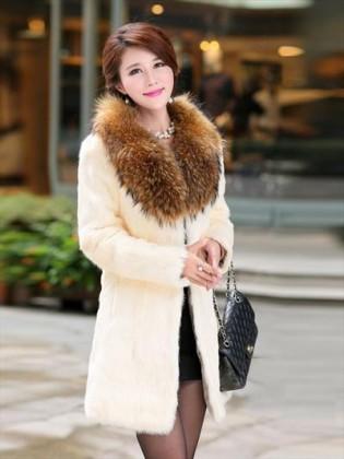 Áo khoác lông thỏ nhập khẩu cao cấp TA218