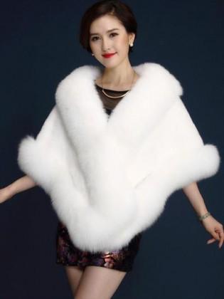 Khăn choàng lông chồn cao cấp TA227