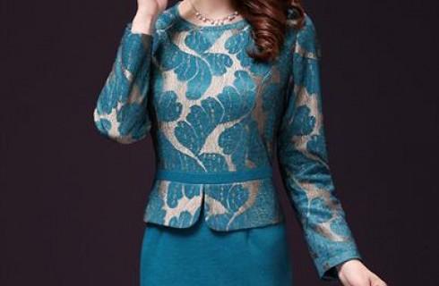 Đầm ren trung niên hàn quốc cực sang trọng và quyến rũ cho các quý cô