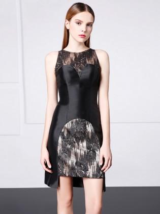 Đầm đen body thiết kế cao cấp ( dáng ngắn )TV705