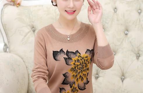 Áo len trung niên đẹp cực ấm áp thanh lịch mùa thu đông