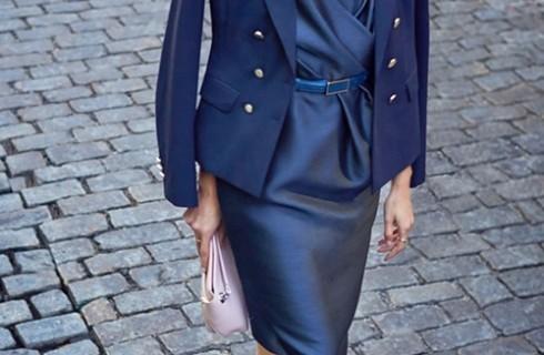 Kiểu áo vest nữ trung niên sành điệu của nàng giám đốc U40