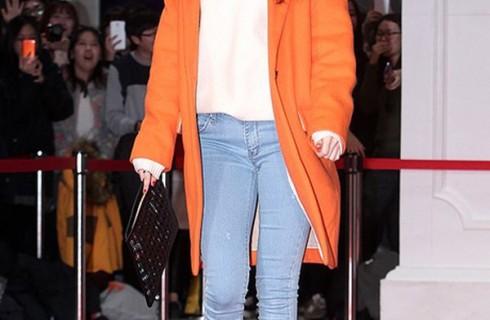 Áo khoác dạ nữ dễ thương đang là hot trend của sao Hàn