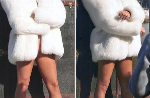 Áo lông thú cao cấp khuấy đảo tủ đồ mùa đông của sao ngoại