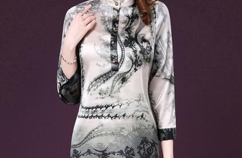 5 mẫu váy dài cho người trung niên sang trọng