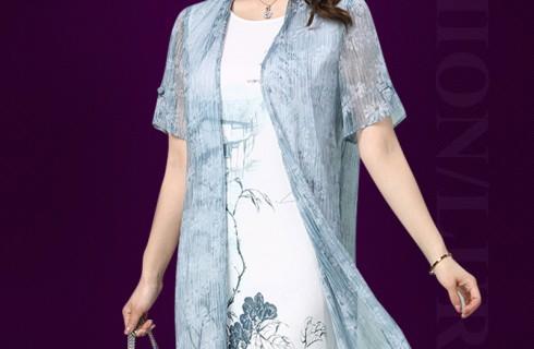 Xu hướng thời trang đầm mùa hè tuổi trung niên đẹp