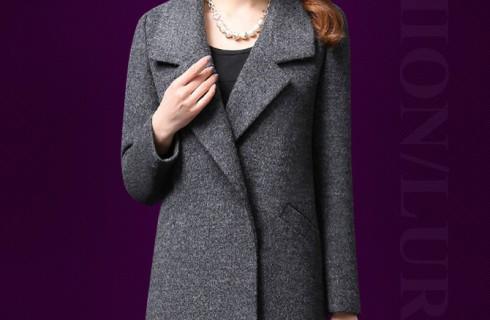 BST Các mẫu áo khoác dạ nữ sang trọng cho phụ nữ trung niên