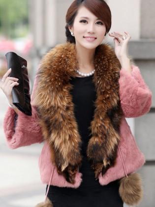 Áo choàng lông chồn TA215