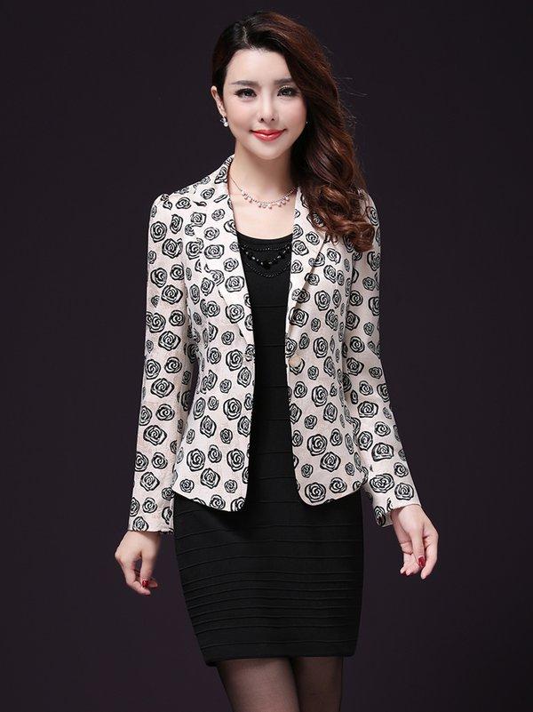 Mẫu áo vest dành cho quý cô trung niên cực kỳ sang trọng TNAKTWY0001