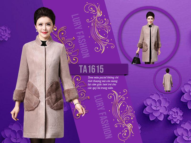Lựa chọn tông màu áo dạ nữ trung niên phù hợp lứa tuổi