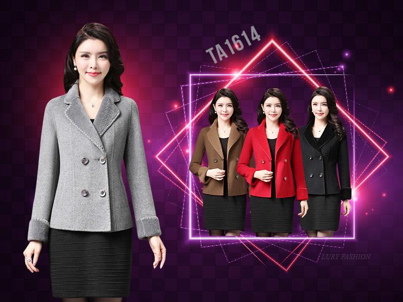 Thiết kế áo dạ form suông ngắn dễ dàng mix & match trong các trang phục đường phố cho đến công sở