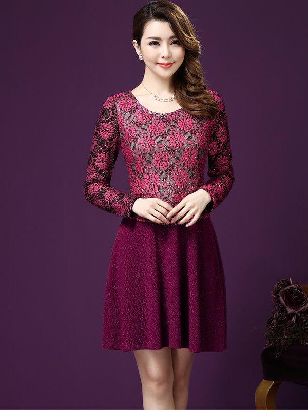 Mẫu váy đầm liền đẹp cho phụ nữ trung niên trưng diện